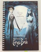 SD Toys Corpse Bride Notebook Movie Poster