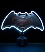 Groovy Batman v Superman Neon Light Logo 24 x 30 cm