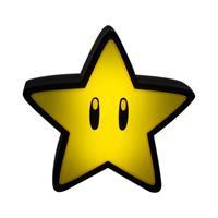Paladone Products Super Mario Mini Light with Sound Super Star