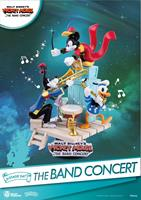 Beast Kingdom Toys Disney Mickey Mouse D-Stage PVC Diorama The Band Concert 15 cm