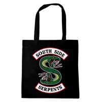 Logoshirt Harry Potter Tote Bag South Side Serpents