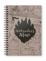 SD Toys Harry Potter Notebook Marauders Map