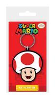 Pyramid International Super Mario Rubber Keychain Toad 6 cm