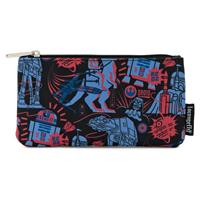 Loungefly Star Wars by  Coin/Cosmetic Bag Empire Strikes Back 40th Anniversary AOP