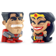 Cryptozoic DC Comics Red Son Superman and Wonder Woman 2-Pack Teekeez Figures - Free Comic Book Day 2019 Exclusive