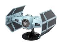 Revell Star Wars Model Kit 1/57 Darth Vader's TIE Fighter 17 cm