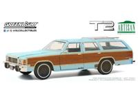 Greenlight Collectibles Terminator 2 Diecast Model 1/18 1980 Ford LTD Country Squire