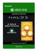 microsoft Halo 5: Guardians: 3 Gold REQ Packs