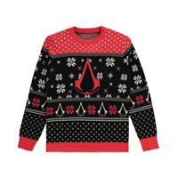 Difuzed Assassins's Creed Knitted Christmas Sweater Logo Size XL