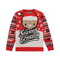 Difuzed Guardians of the Galaxy Knitted Christmas Sweater Season's Grootings Size M