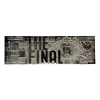 FaNaTtik Harry Potter Replica Quidditch World Cup Ticket Limited Edition (silver plated)