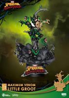 Beast Kingdom Toys Marvel Comics D-Stage PVC Diorama Maximum Venom Little Groot 16 cm