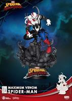 Beast Kingdom Toys Marvel Comics D-Stage PVC Diorama Maximum Venom Spider-Man 16 cm