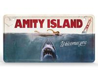 Doctor Collector Jaws Metal Sign Movie Poster