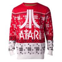 Difuzed Atari Knitted Christmas Sweater Atari Logo Size M
