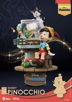 Beast Kingdom Toys Disney Classic Animation Series D-Stage PVC Diorama Pinocchio 15 cm