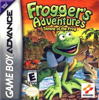 Konami Frogger's Adventures Temple of the Frog