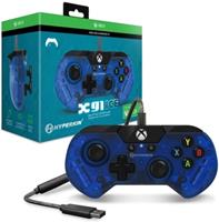 HyperKin X91 Xbox Controller (Transparent Blue)
