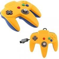 Teknogame Nintendo 64 Controller Blauw/Geel ()