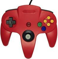 Teknogame Nintendo 64 Controller Rood ()