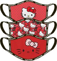 Difuzed Hello Kitty - Standard Facemasks (3 Pack)