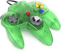 Teknogame Nintendo 64 Controller Groen Transparant ()