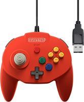 Retro-Bit Tribute 64 USB Controller (Red) ()