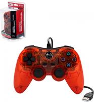 TTX Tech Universal Wired USB Controller Clear Red ()