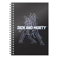 SD Toys Rick & Morty Notebook Glitch