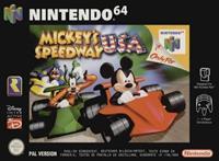 Nintendo Mickey Speedway USA