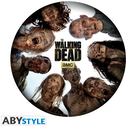 The Walking Dead - Round Of Zombies Mouse Mat
