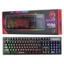MARVO Marvo K616A. Toetsenbord formaat: Standaard. Stijl toetsenbord: Recht. Aansluiting: USB, Toetsenbord toetsschakelaar: Membraan keyswitch, Toetsenbordindeling: QWERTY, Aantal toetsen, toetsenbord
