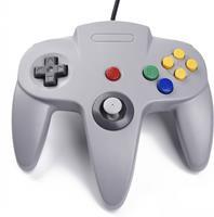 Teknogame Nintendo 64 Controller Grijs ()