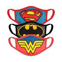 Difuzed Justice League Face Masks 3-Pack Core