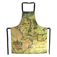 SD Toys Lord of the Rings cooking apron The Middle Earth Map