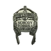 FaNaTtik Lord of the Rings Pin Badge Gimli's Helmet Limited Edition