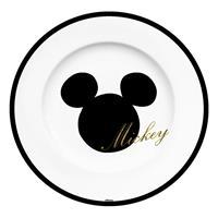 Geda Labels Disney Plate Mickey Glitter