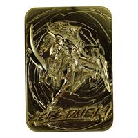 FaNaTtik Yu-Gi-Oh! Replica Card Black Luster Soldier (gold plated)