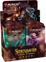 Wizards of The Coast Magic The Gathering - Strixhaven School of Mages Theme Boosterpack