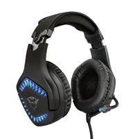 Trust GXT 460 Varzz Gaming Headset Headset Zwart