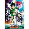 Hunter X Hunter Keyart Running Maxi Poster