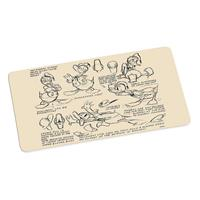 Geda Labels Donald Duck Cutting Board Vintage