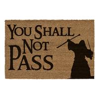 SD Toys Lord of the Rings Doormat You Shall Not Pass 60 x 40 cm