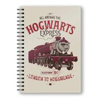 SD Toys Harry Potter Notebook with 3D-Effect All Aboard the Hogwarts Express