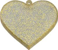 Good Smile Company Nendoroid More Face Parts Case for Nendoroid Figures Heart Gold Glitter Version