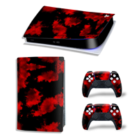 Consoleskins PS5 Skins - Army Camo Red