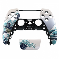 Consoleskins PS5 Controller Behuizing Shell - Great Wave - Front Shell