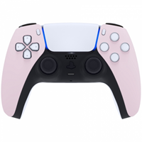 Consoleskins Sony PS5 DualSense Draadloze Controller - Lichtroze Soft Touch Front Custom