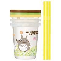 Skater My Neighbor Totoro Cup & Straw Set 3-Set