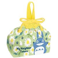 Skater My Neighbor Totoro Cloth Lunch Bag Daisies
